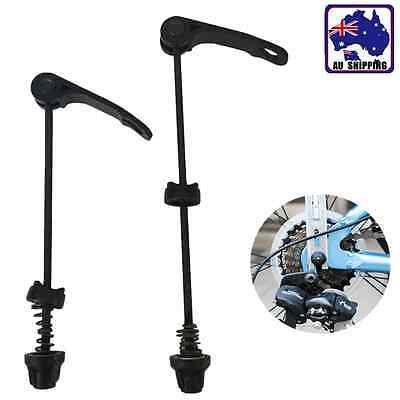 1Pair Front + Rear Bike Bicycle MTB Skewers Quick Release Axle Wheel TBIS36402