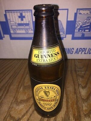 Vtg 90's Guinness Extra Stout Beer Bottle Imported Numbered