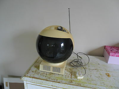 A very good JVC Space Helmet 1960s Television TV Good Static Reception