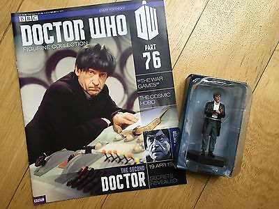 Doctor Who Figurine: Issue #76 - 2nd Doctor, Patrick Troughton, Eaglemoss, Dr
