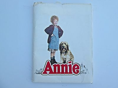 """""""Annie"""" Original movie press release by Columbia pictures 1982"""
