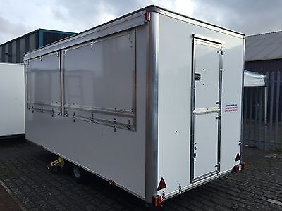 CATERING TRAILER New 16ft x 7ft