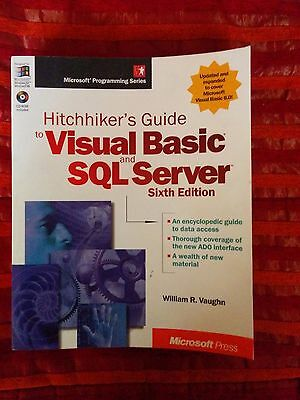 Microsoft Hitchhiker's Guide to Visual Basic and SQL Server 6th Edition + cd-rom