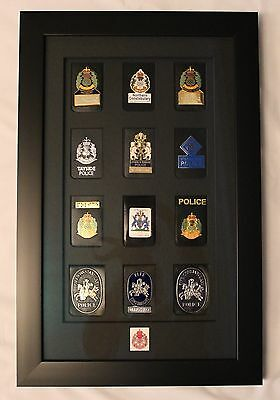 Obsolete Set Of Warrant Badge Wallets For The Scottish Forces