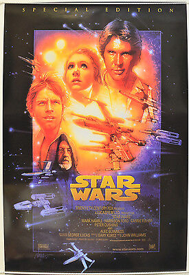 STAR WARS (1997 Special Edition) Original One Sheet Movie Poster - George Lucas