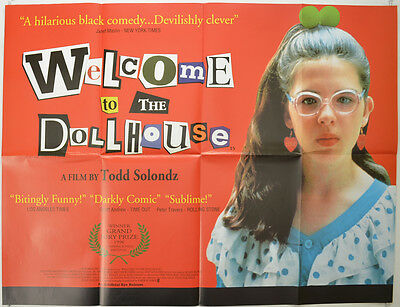 WELCOME TO THE DOLLHOUSE (1996) Original Quad Movie Poster - Heather Matarazzo