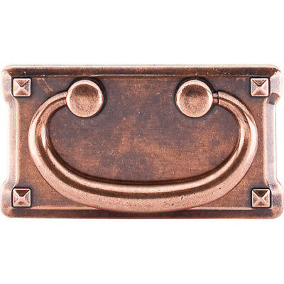 """Top Knobs Chateau II Mission Plate 3"""" Center Ring Pull"""