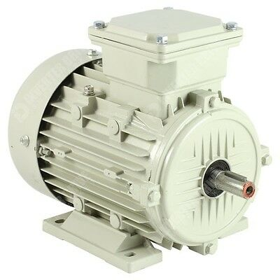TECO 3 Phase Electric Motors 2 Pole 3000RPM Aluminium IE2 Efficiency