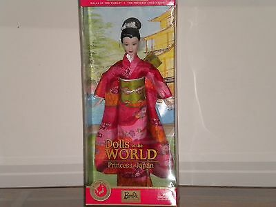 Dolls of the World Princess Collection - Pricess of Japan 2003 Barbie Doll