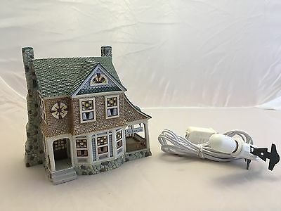 "1998 Retired Department 56 Seasons Bay Series ""the Side Porch Cafe"" Original Box"