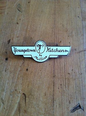 Rare 1940s 1950s 1960s Youngstown Kitchens by Mullins Badge Made in USA!