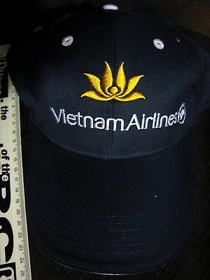 Rare Official Vietnam Airlines Baseball Cap - Adjustable New Never Worn