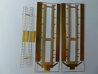 4mm Scale [00] TTA Tank wagon TwinRoofwalks in photo etched brass