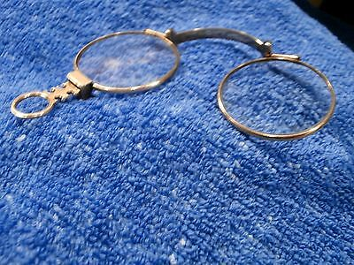 1830's 15K Solid Gold Rare  Lorgnette   Wonderful Condition!!