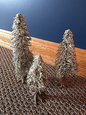 Dept 56 Dickens Village Snow Covered Fir Trees