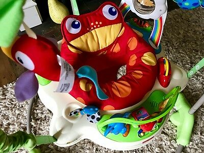 *** Fisher-Price - Jumperoo - Rainforest / Jungle - Baby Bouncer - Rrp £118 ***