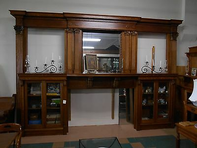 Antique Architectural Salvage Fireplace Mantel