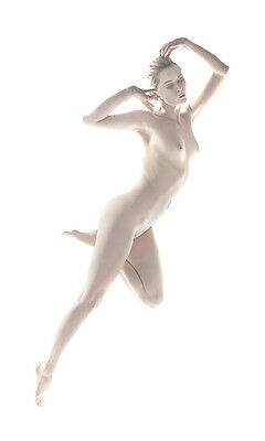 Fine art nude gallery photograph: Figurine 001. Signed, Limited Edition