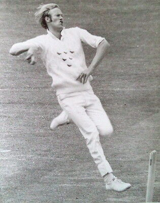 TONY GREIG BOWLING FOR SUSSEX v MIDDLESEX, LORD'S 1974