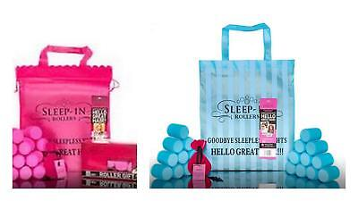Sleep In Rollers Gift Set | Original Pink - Turquoise