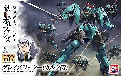 HG Iron-Blooded Orphans 1/144 Scale Model Carta's Graze Ritter by Bandai