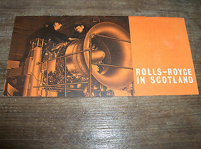 Rolls Royce In Scotland/Engines/R.A.F. Booklet 1964