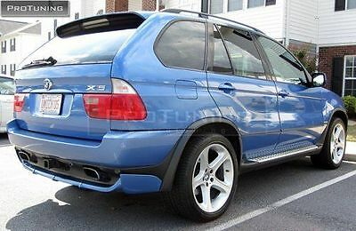BMW X5 E53 4.6 is 4.8is arcate bordo prolunga spoiler bombature kit carrozzeria