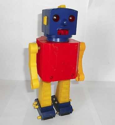 1960`s Mortoys Robbie Robot toy a very rare vintage collectable with issues