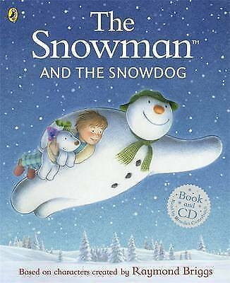 The Snowman and The Snowdog (Book & CD) by Raymond Briggs (New Paperback Book)