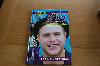 Olly Murs Unauthorised 2012 Annual- Collectable