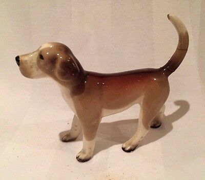 W.R. Midwinter Ltd Burslem Pottery Vintage Beagle Dog Hound Animal Figurine
