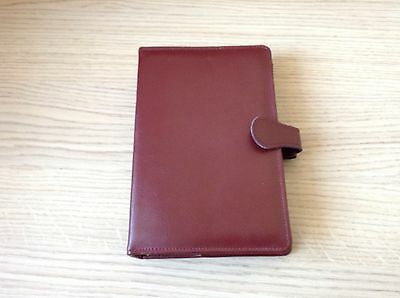New London Organiser Company Bloomsbury Leather Standard Personal File Diary