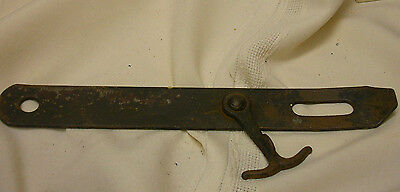 "Antique Barn Shed Door Latch for Hasp 8"" Strap Swing Lock"
