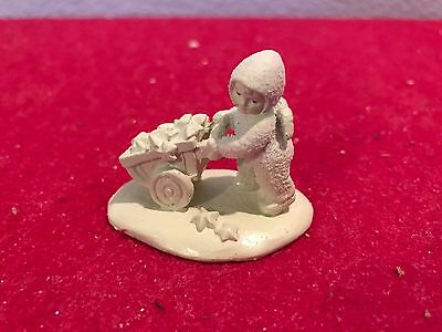 Dept 56 THERE'S ANOTHER ONE w/ Box SNOWBABIES MINIATURES