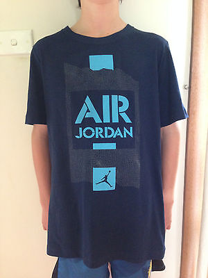 Nba Air Jordan Childrens Boys Girls Basketball T Shirt Size 13-15 Yrs