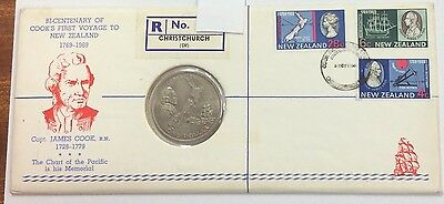 1969 bi-centenary of cooks first voyage to New Zealand- no 6 of 115 produced