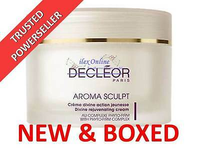 DECLEOR AROMA SCULPT DIVINE REJUVENATING FIRMING CREAM 200ml ANTI AGEING BNIB