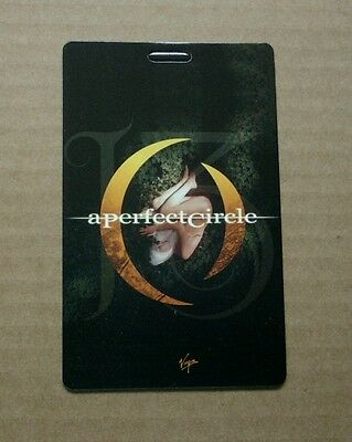 2003 Promotional Advertising LENTICULAR CARD A Perfect Circle - Thirteenth Step