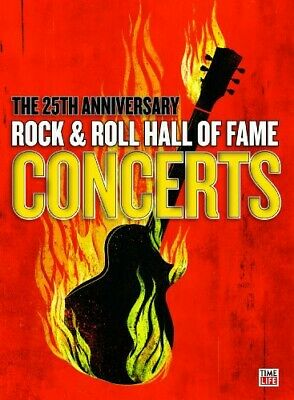 25th Anniversary Rock & Roll Hall of Fame Concerts [3 Discs] (2010, DVD NEW)