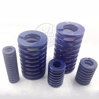 OD 22mm /& ID 11mm Multi-Color Light//Heavy Load Duty Compression Mould Die Spring