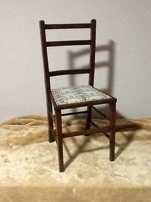 Fab Vintage Chair With Cross stitch Embroidered Seat