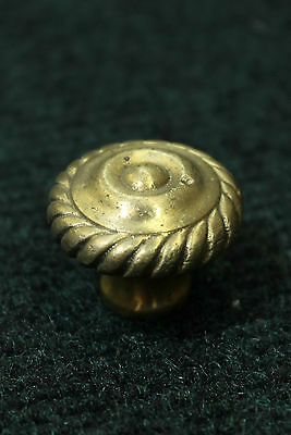 Rocky Mountain Style Solid Reclaimed Brass Rope Cabinet Knobs