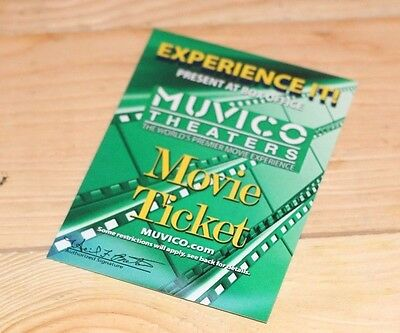 Muvico theater Movie Tickets valid wholesale Save Money Discount