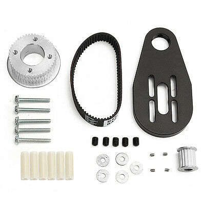 DIY electric skateboard kit parts pulleys and motor mount for 80MM wheels