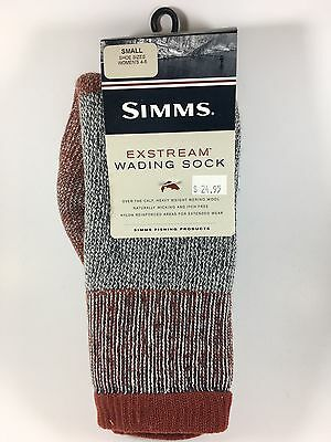 Simms Exstream Wading Sock–Women's Small (4-6)
