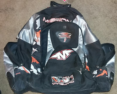 Mission Wicked One Hockey Gear Bag Backpack Ice Roller Sporting Goods Sports