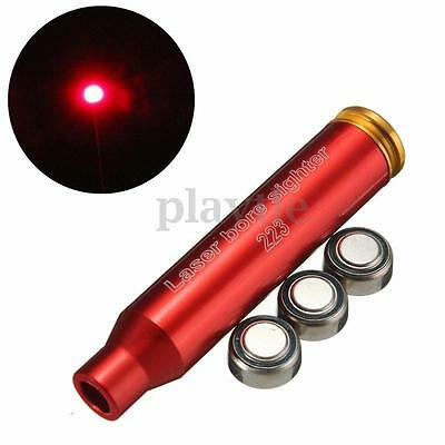 Laser Red Dot.223 REM Cartridge Bore Sight Sighter 5.56 Nato Boresight For Scope