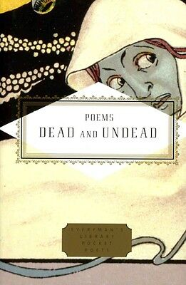 Poems of the Dead and Undead by Tony Barnstone Hardcover Book
