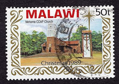 1989 Malawi Christmas Churches 50T CCAP SG 831 FINE Used R30063