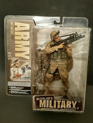 ARMY INFANTRY McFarlane's Military Redeployed SERIES 2 ACTION FIGURE SOLDATO